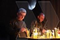 Հայկական երկու հանրապետությունների նախագահները մոմ վառեցին Գանձասարում
