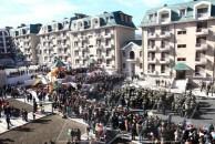Ստեփանակերտում բացվեց 176 բնակարանանոց սպայական ավան