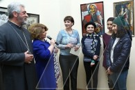 Exhibition-contest dedicated to St. Sargis Day opens at Terlemezyan College of Fine Arts