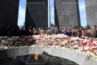 Հայաստանում հարգում են Օսմանյան Թուրքիայի կողմից իրականացրած Ցեղասպանության անմեղ զոհերի հիշատակը