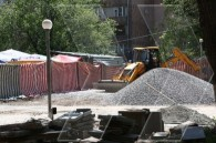 Vernissage open-air market in Yerevan being renovated and modernized