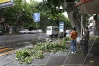 Yerevan, after the heavy wind