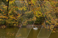 The Autumn kiss on Lake Parz