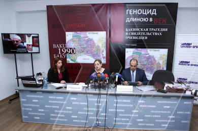New facts and ducuments presented during the 27th anniversary of massacres of Armenians in Baku