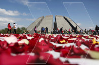 Flower Gathering event  in Genocide Memorial Complex