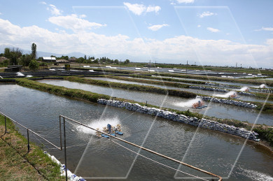 Fish farm water used for irrigation in Armenia
