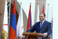 The newly elected Yerevan Mayor took an oath