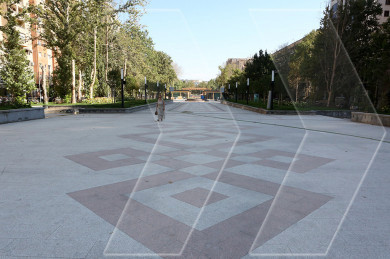 This is how downtown Yerevan park looks like after years of renovations