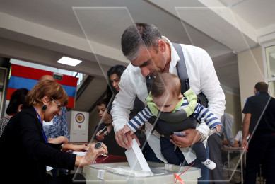 Yerevan residents electing new mayor