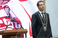 Hayk Marutyan's swearing-in ceremony