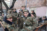 Winter conscription kicks off in Armenia