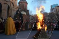 Armenians celebrate Tiarn'ndaraj (Candlemas)