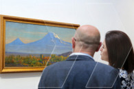 """Ararat: The Holy Mount"" on canvases"