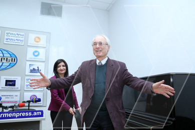 Tigran Mansurian's gift to reporters on his birthday