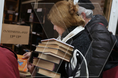 Book festival at National Library of Armenia