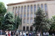 Ակցիա ՍԴ դիմաց. «Հայաստանում քաղաքական բիրտ ուժը հաղթեց իրավական մտքին»