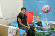 Newborn Artsakh 'serviceman' discharged from hospital