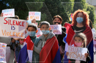 Artsakh children and women who fled their homes urge the UN not to turn a blind eye on Azerbaijani aggression