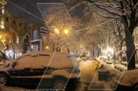 Ереван после снега