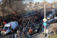 Homeland Salvation Movement's rally and march  demanding Pashinyan's resignation