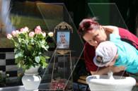 Питьевой фонтанчик,  посвященный погибшему в войне Акопу Богаряну