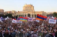 «Հայաստան» դաշինքի եզրափակիչ հանրահավաքը Հանրապետության հրապարակում