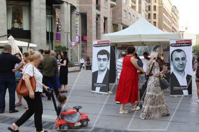 Ազատություն Սյունյանց պաշտպաններին. Ստորագրահավաք Երևանում