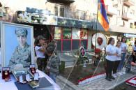 Memorial to Arsen Aljikyan, who destroyed six Azerbaijani tanks, unveils in Yerevan