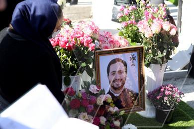 Եռաբլուրում Նարեկ սարկավագ Պետրոսյանի մահվան առաջին տարելիցին նվիրված հոգեհանգստյան կարգ կատարվեց