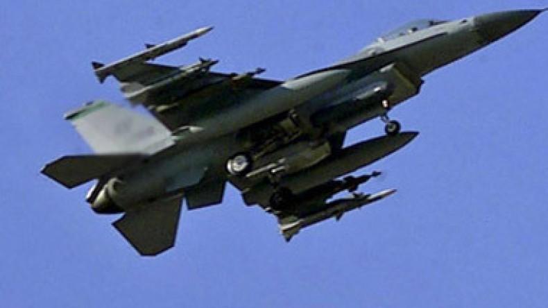 В США разбился истребитель F-16 с полным боекомплектом