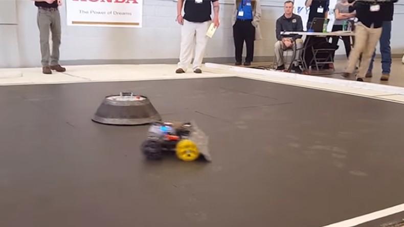 «Այբ»-ի ռոբոտիկայի թիմը հաղթել է հեղինակավոր միջազգային «Ռոբոտիկայի ազգային մարտահրավեր»-ում