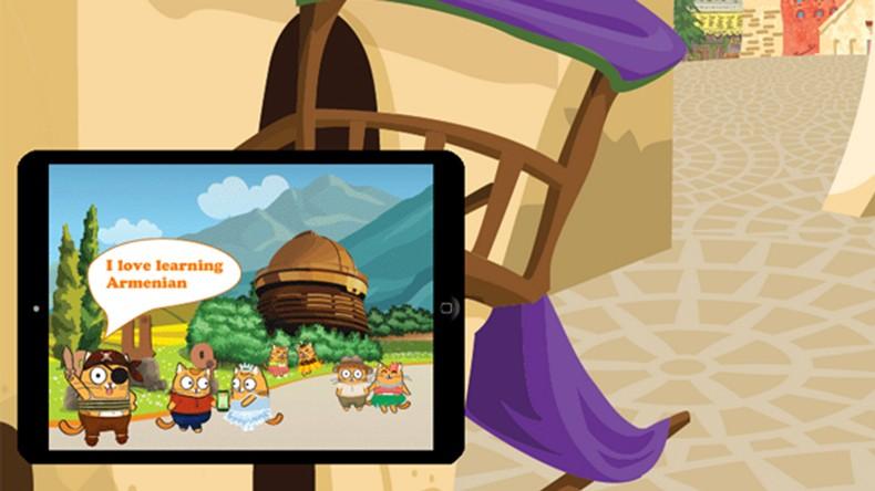 Հայ մանուկների համար առաջին անվճար հայերեն սովորեցնող խաղ