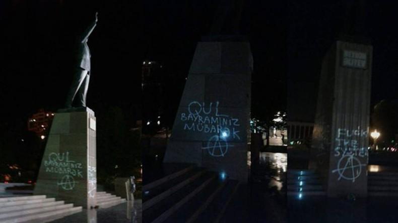 Адвокат: В Азербайджане арестованных за граффити на памятнике Гейдару Алиеву активистов пытают с целью выбить признание