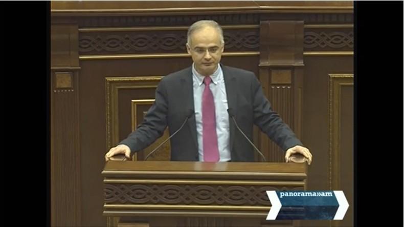 Программы деятельности Контрольной палаты Армении оставили у оппозиционного депутата Левона Зурабяна «эффект дежавю»