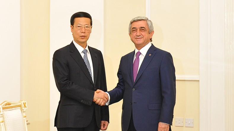 Вице-премьер Госсовета КНР: Армения может способствовать развитию сотрудничества Китая с ЕАЭС
