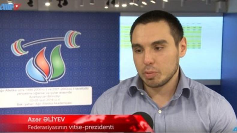 Вице-президентом Федерации тяжелой атлетики Азербайджана назначен племянник президента Ильхама Алиева