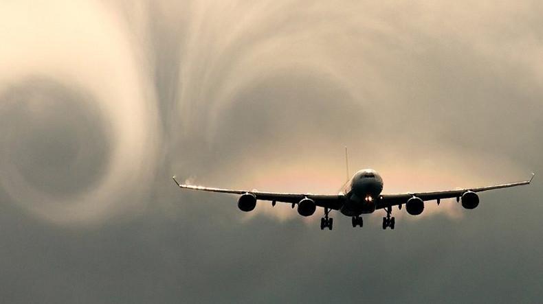 В США в самолете люди получили травмы из-за турбулентности