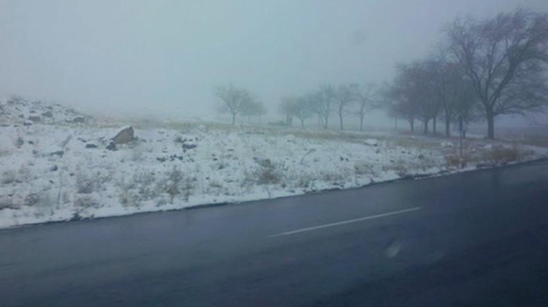 Минтранс Армении: На ряде автодорог республики наблюдается туман, видимость – 50-100 м