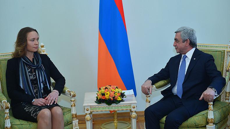 Серж Саргсян: Армения заинтересована в придании нового качества армяно-эстонскому сотрудничеству