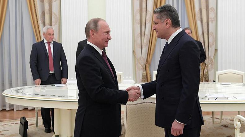 Владимир Путин и Тигран Саркисян обсудили актуальные вопросы развития евразийской интеграции