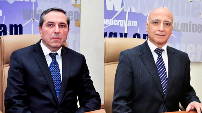 Премьер Армении освободил от должностей двух заместителей министра энергетических инфраструктур и природных ресурсов