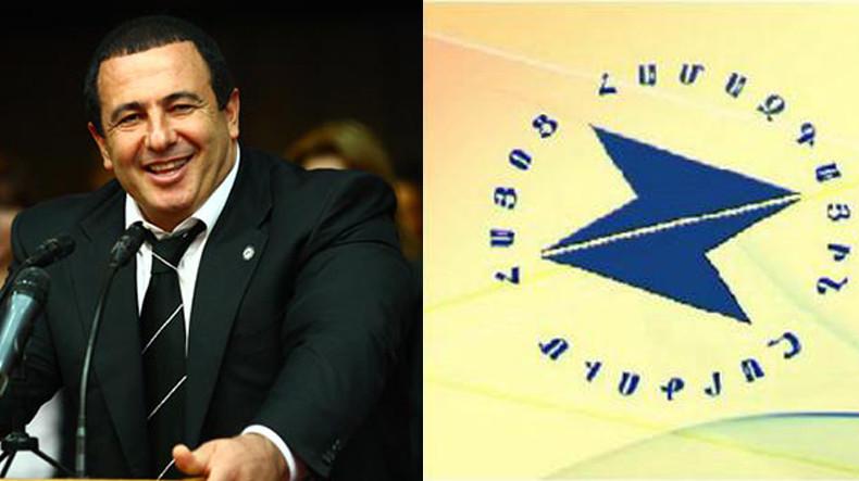 АОД заявляет о намерении присоединиться к блоку Гагика Царукяна