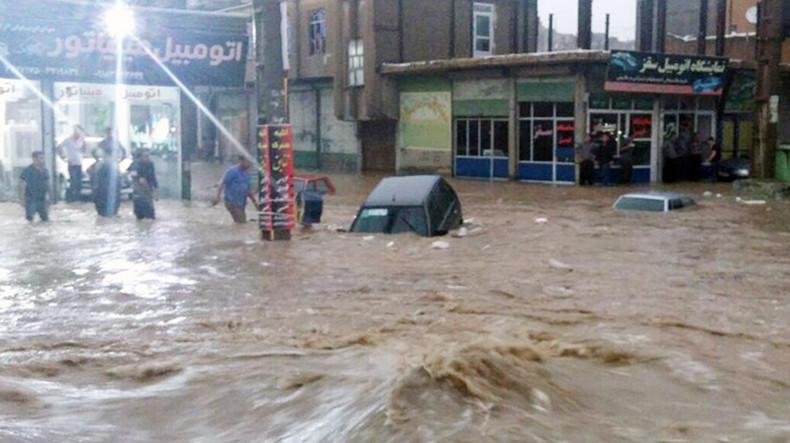 17 մարդ Իրանում ջրհեղեղի զոհ է դարձել