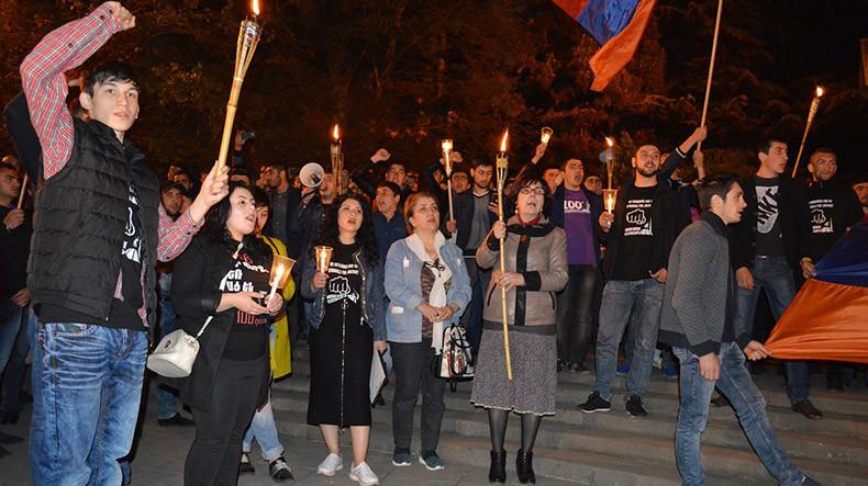 Չնայած Թբիլիսիի քաղաքապետարանի նախազգուշացմանը` Հայոց ցեղասպանության զոհերի հիշատակին նվիրված ջահերթն անցկացվել է