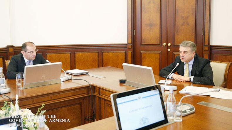 Премьер Армении Карен Карапетян поручил Минфину известить общественность: Мы перевыполнили бюджет