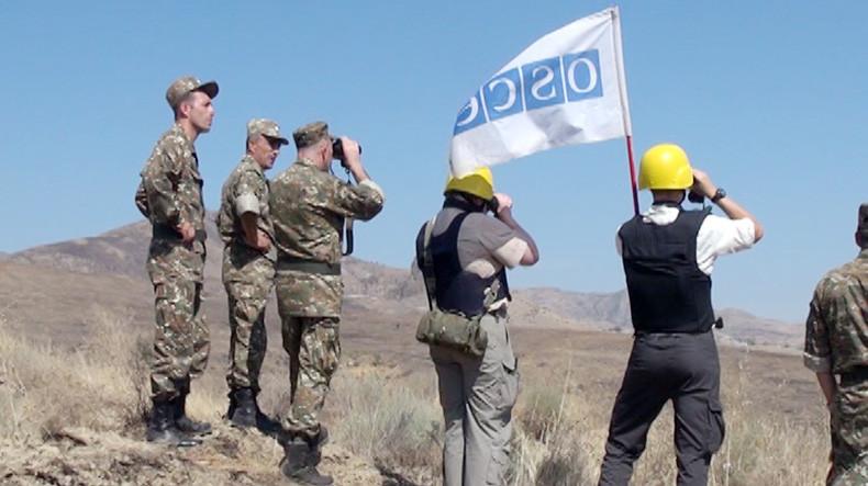 Офис Анджея Каспршика: Мониторинги на линии соприкосновения – единственное средство укрепления доверия в военной сфере