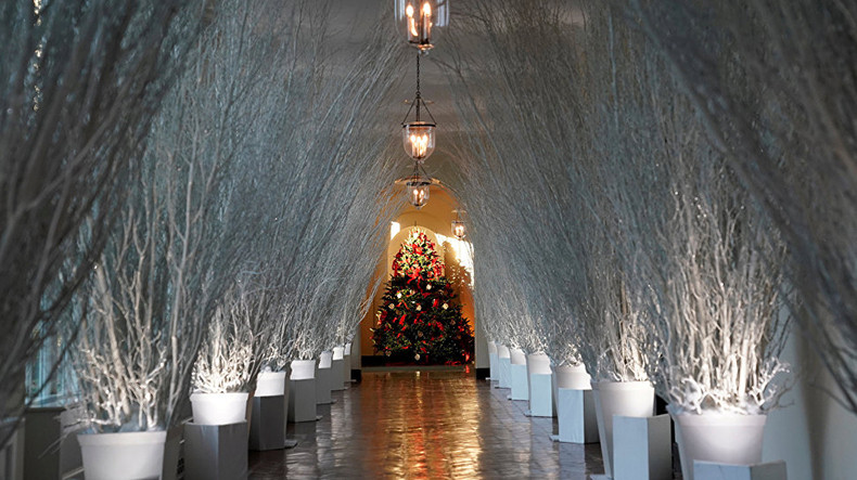 Image result for Trump cancels White House Christmas party for the press