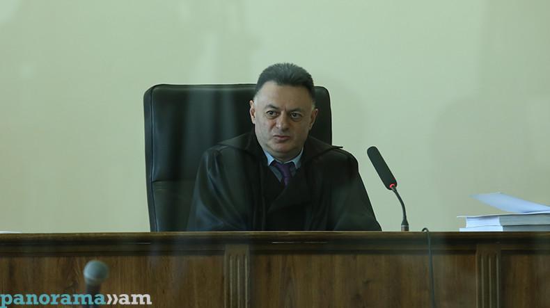 Судья Давид Григорян: Убежден, все вы прекрасно осознаете, что в действительности происходит