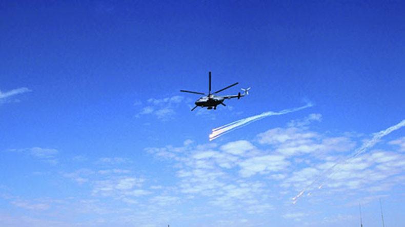 В Армении в ходе ДКШУ летчики армейской авиации ЮВО уничтожили цели по координатам, полученным от расчетов БпЛА