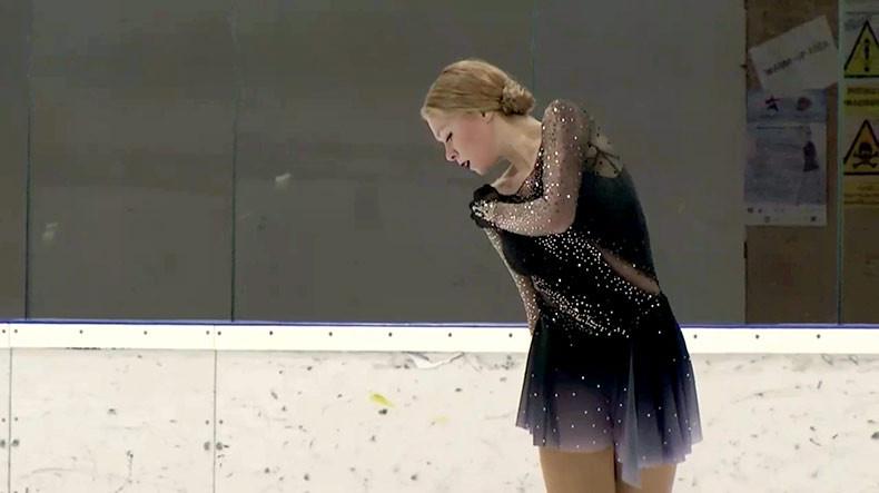 Prague Ice Cup: Анастасия Галустян заняла 3-е место